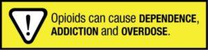 opioid prescriptions warning